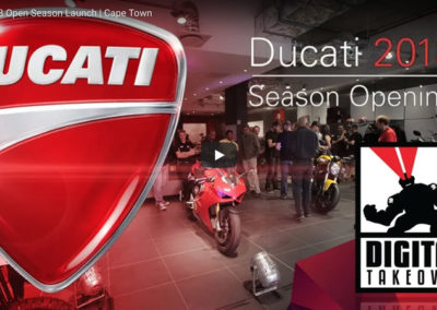 Ducati Cape Town 2018 Season Launch